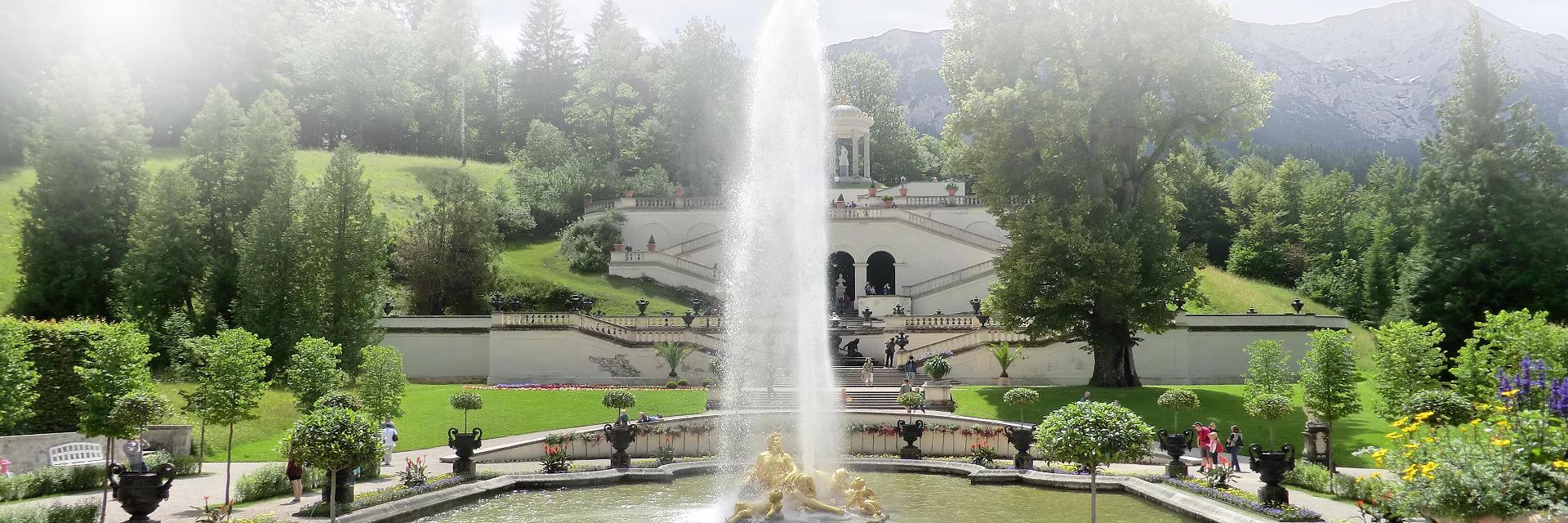 Ferienwohnung Bayern Schloss Linderhof